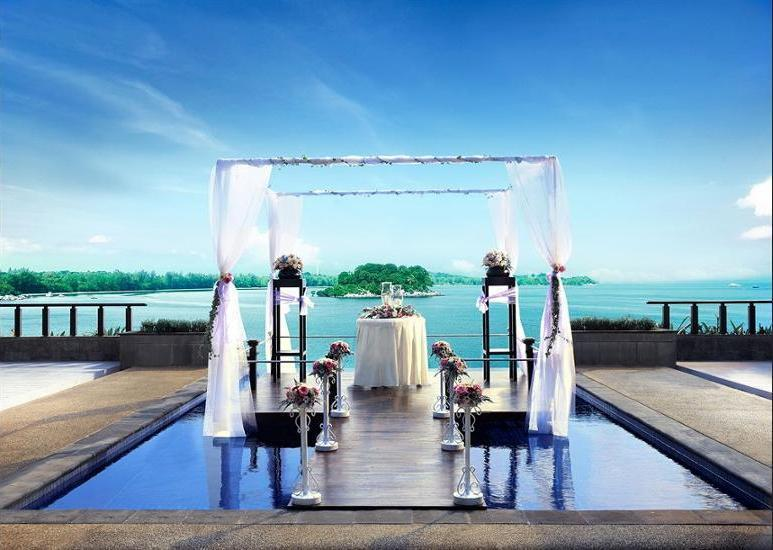 Banyan Tree Bintan - Outdoor Wedding Area
