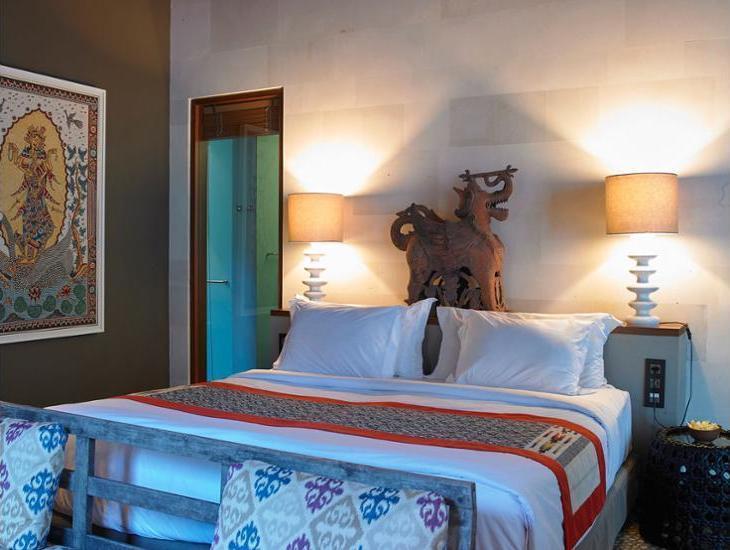 The Purist Villas & Spa Bali - Hotel Front - Evening/Night