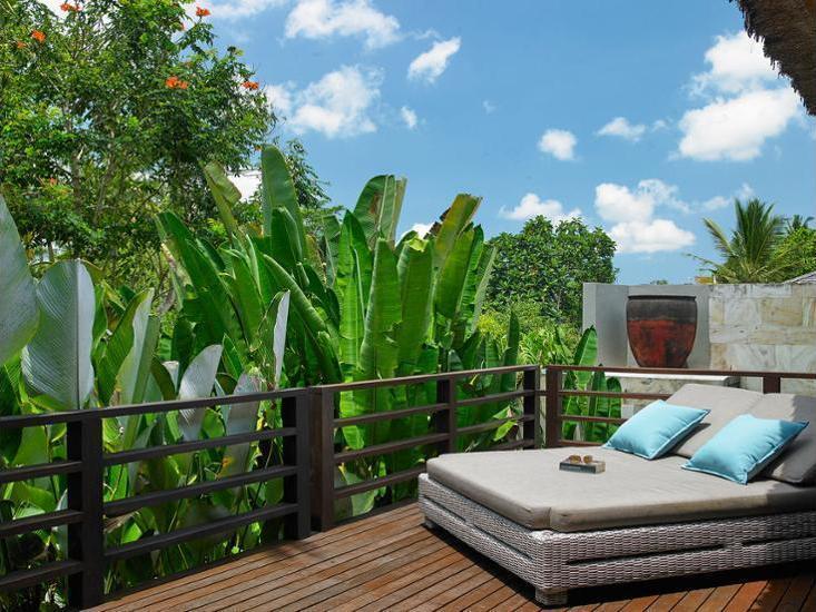 The Purist Villas & Spa Bali - Suite, pemandangan kolam renang, area taman Regular Plan