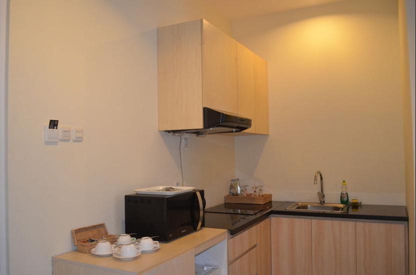 AP Suite Apartment Bali - In-Room Kitchen