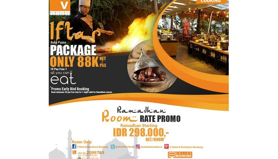 V Hotel & Residence Bandung - Iftar