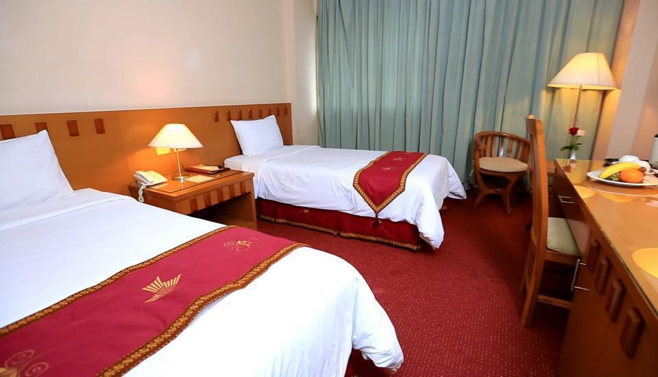 Hotel Patra Jasa jakarta - Kamar Superior dengan tempat tidur twin