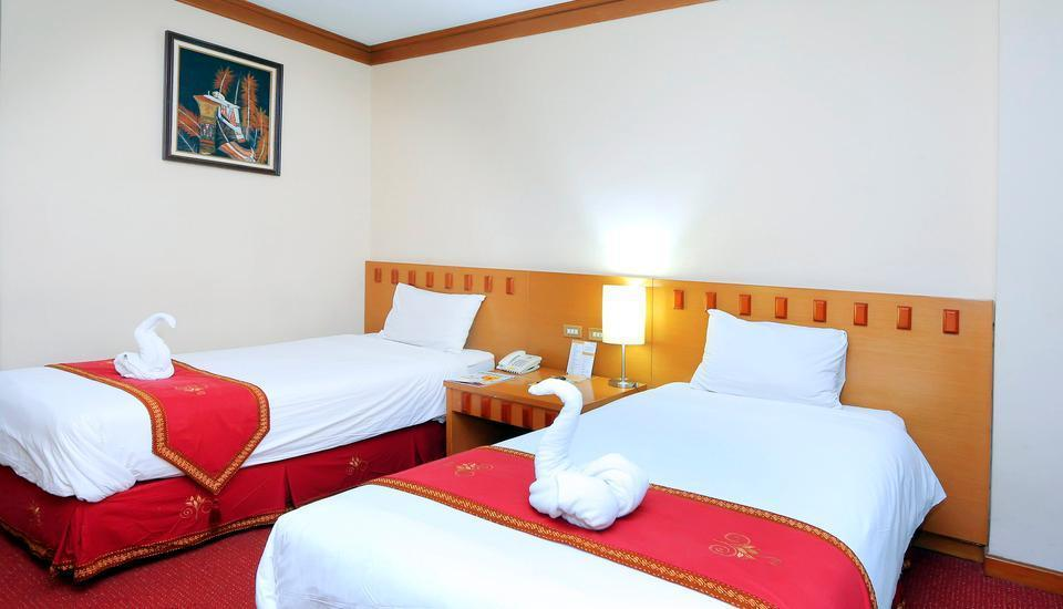 Hotel Patra Jasa jakarta - Deluxe Twin Room Only Regular Plan