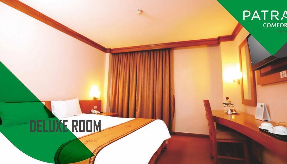 Patra Comfort Jakarta - Tempat tidur besar