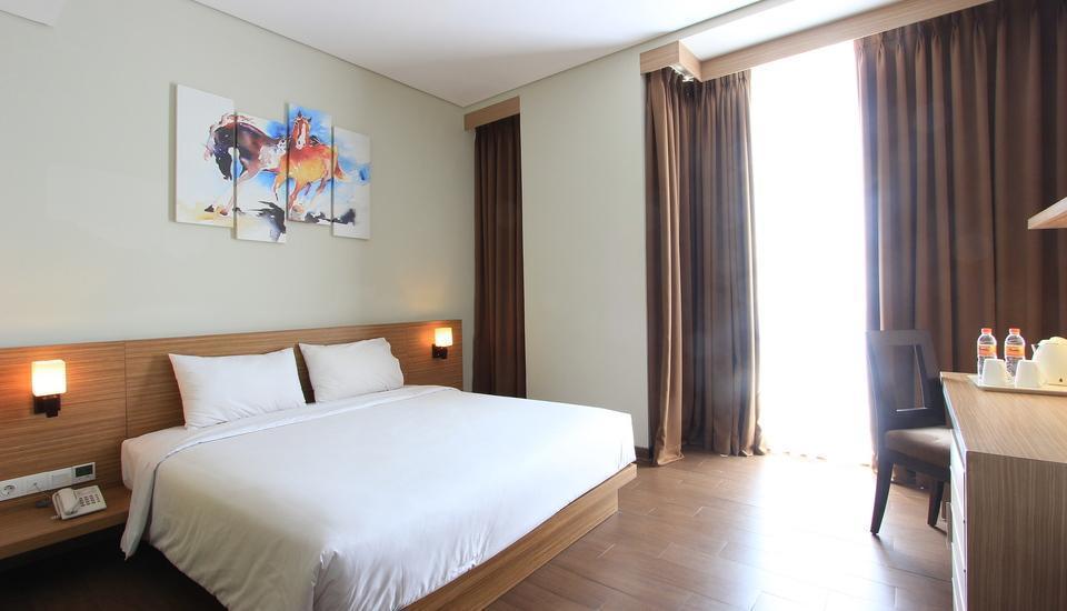 De Rain Hotel  Bandung - Deluxe Queen Room Only Regular Plan
