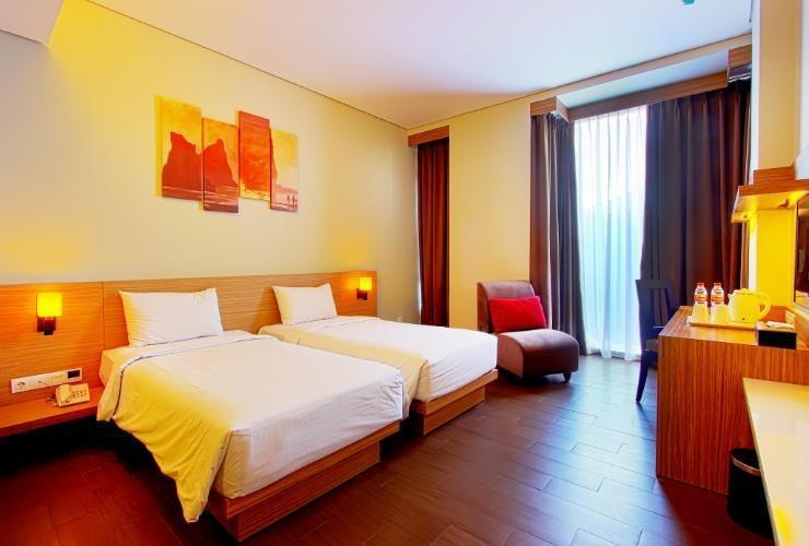 De Rain Hotel  Bandung - Executive Twin Room Only Regular Plan