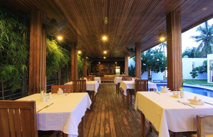 Villa Nero Lombok - Ruang makan