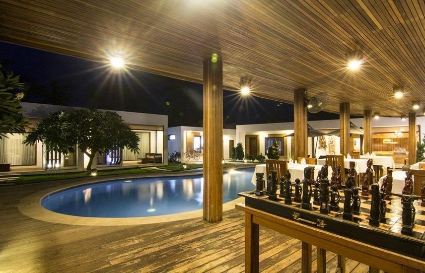 Villa Nero Lombok - Kolam Renang
