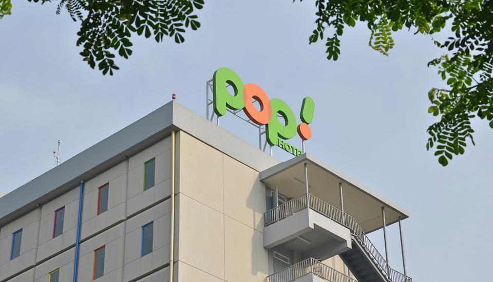 POP Hotel BSD City Tangerang - Eksterior