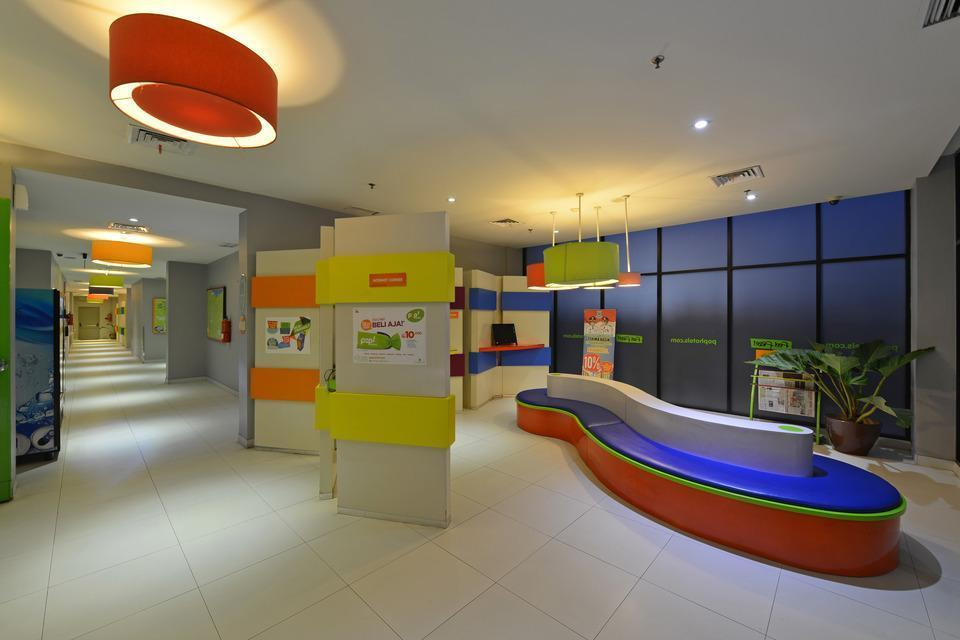 POP Hotel BSD City Tangerang - Ruang Internet