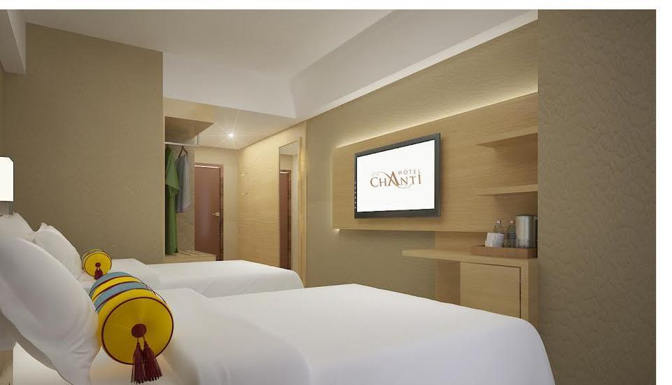 Hotel Chanti Semarang - Premier Twin Bedroom Regular Plan
