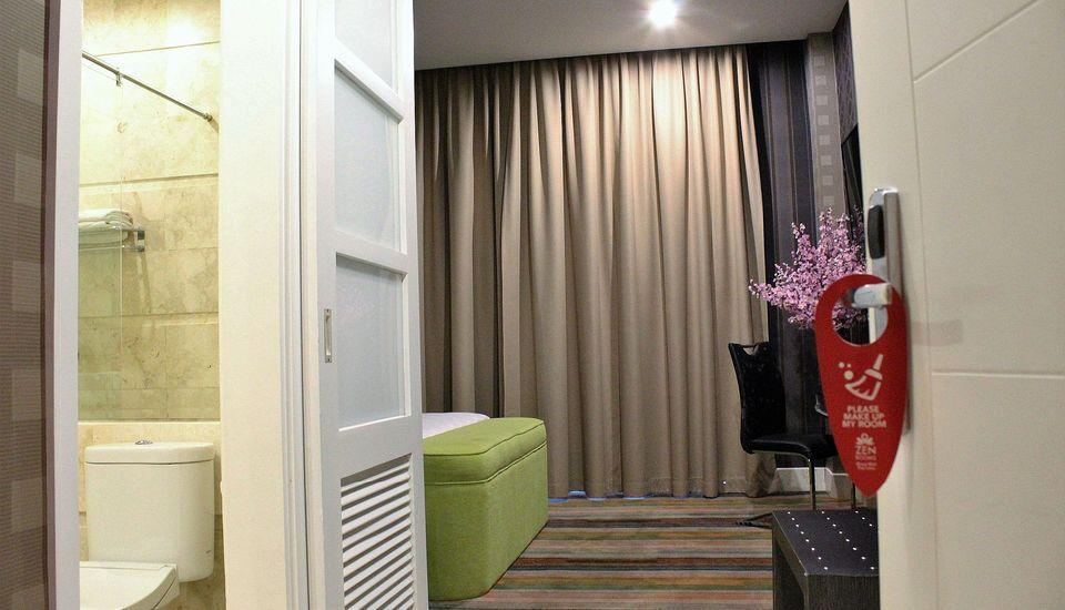 ZenRooms Gunung Bawakaraeng Makassar - Tempat Tidur Double