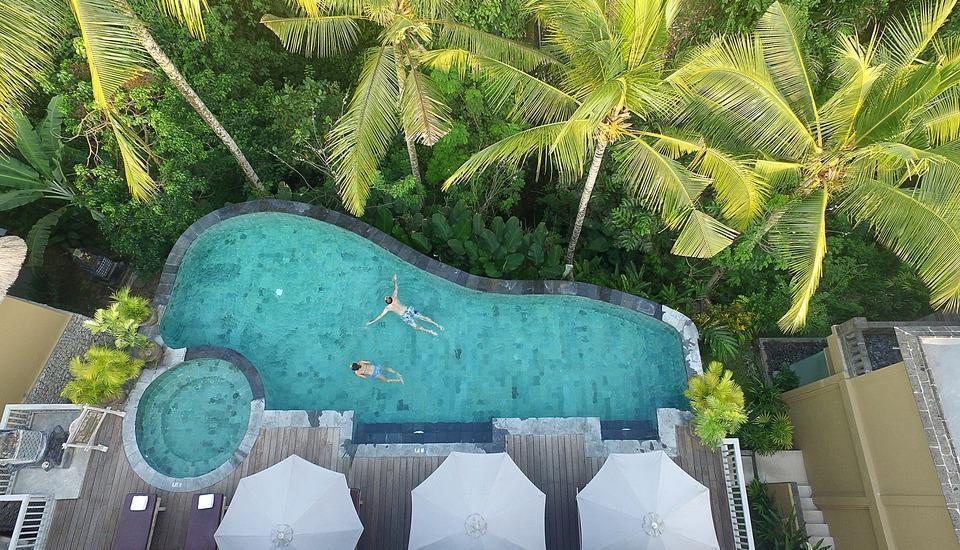 Wapa di Ume Bali - Kolam renang tanpa batas
