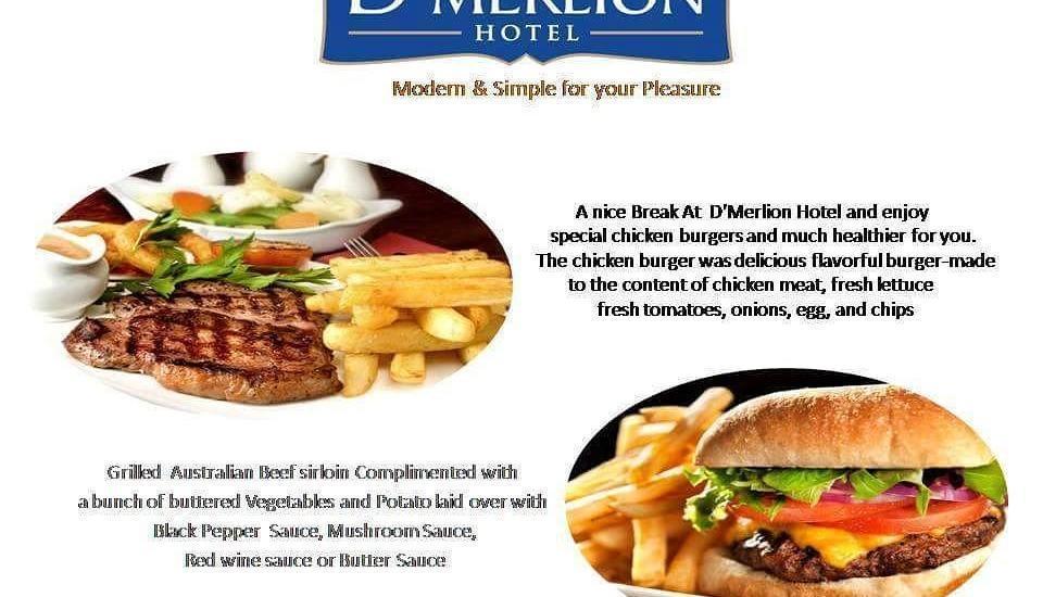 D'Merlion Hotel Batam - Makanan Barat