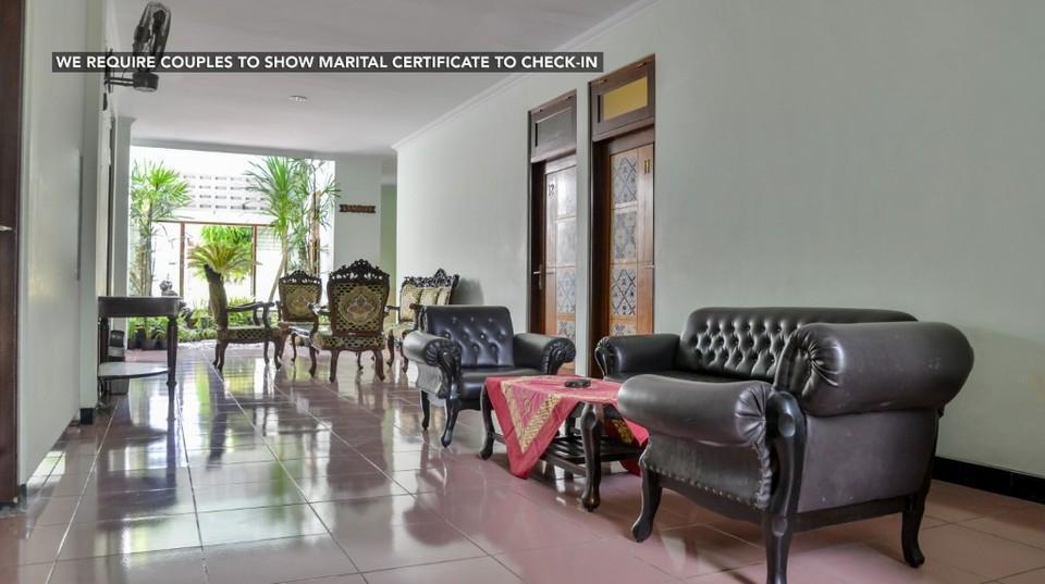 Ndalem Mantrijeron Hotel Yogyakarta - Area tunggu