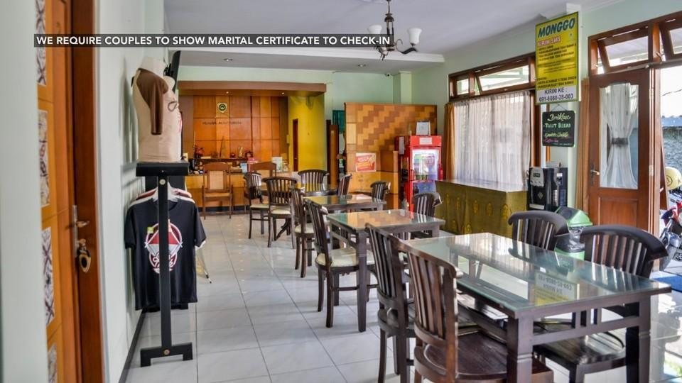 Ndalem Mantrijeron Hotel Yogyakarta - Restoran/Tempat makan