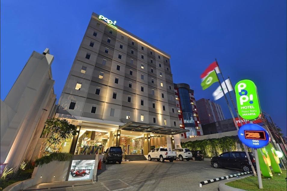 POP! Hotel Pasar Baru - Exterior