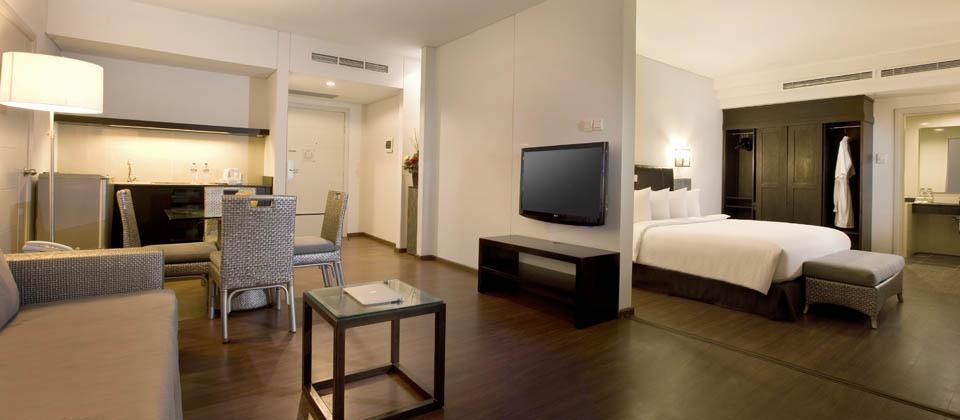 Hakaya Plaza Hotel Balikpapan - Deluxe Suite (13/Feb/2014)