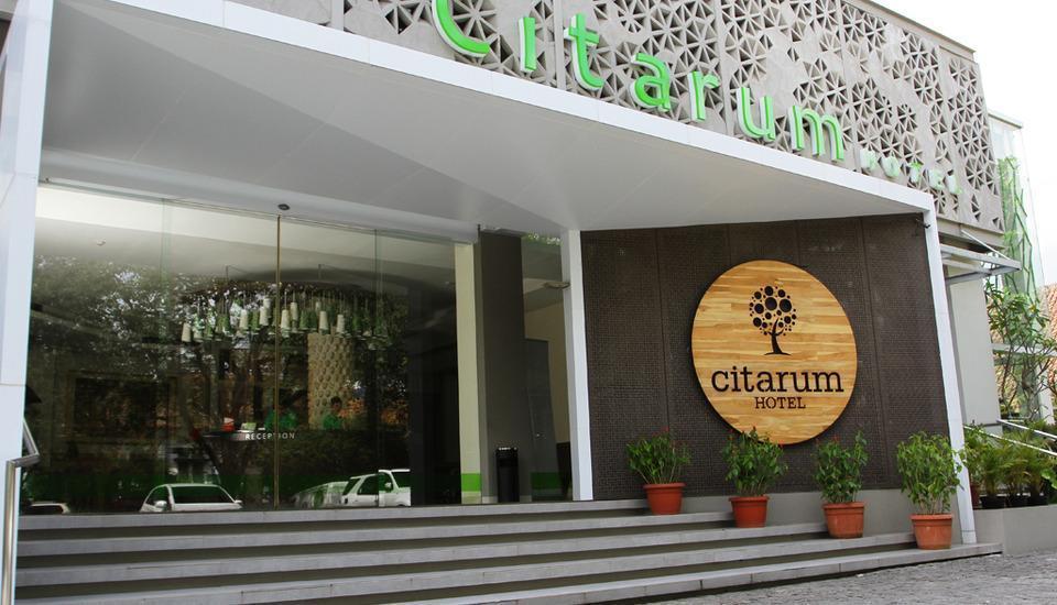 Hotel Citarum Bandung - Front view
