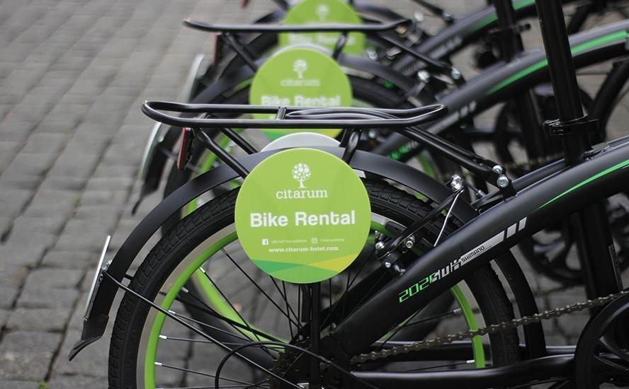 Hotel Citarum Bandung - bicycle rental