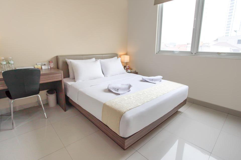 LeGreen Suite Gatot Subroto on Pejompongan V - Bedroom