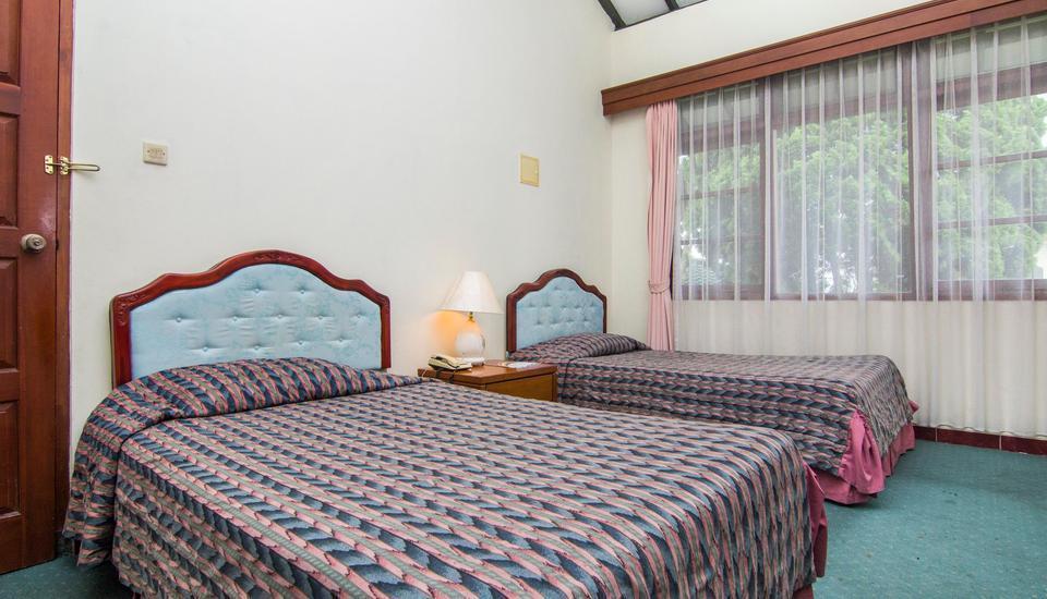 The Bandungan Hotel Semarang - KAMAR DULUXE