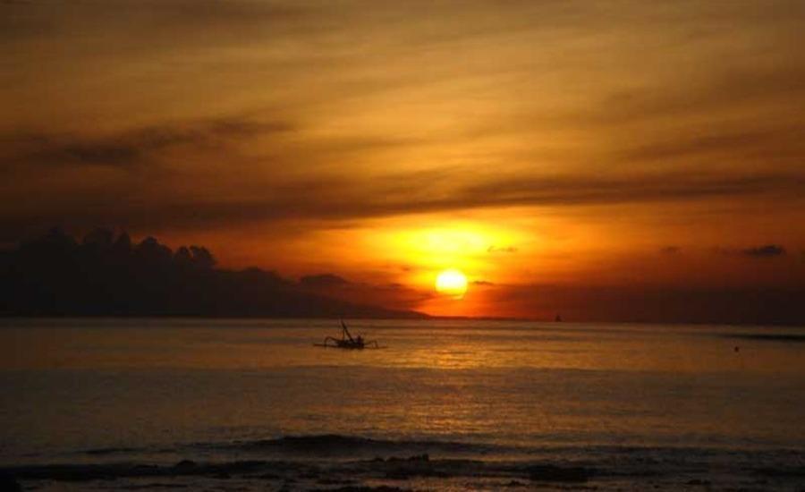 Bali Bhuana Villas Bali - Matahari terbenam