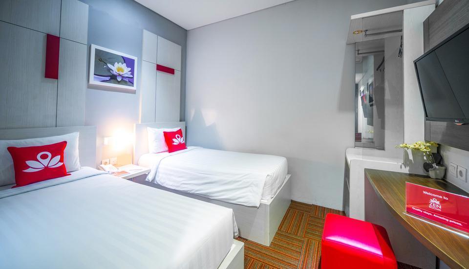 ZEN Premium Setiabudi Jakarta - Tempat tidur Twin