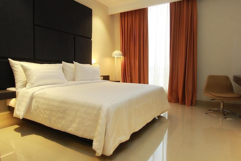 Hotel Grandia Bandung - Deluxe Tempat Tidur Double - Room Only Basic Deal