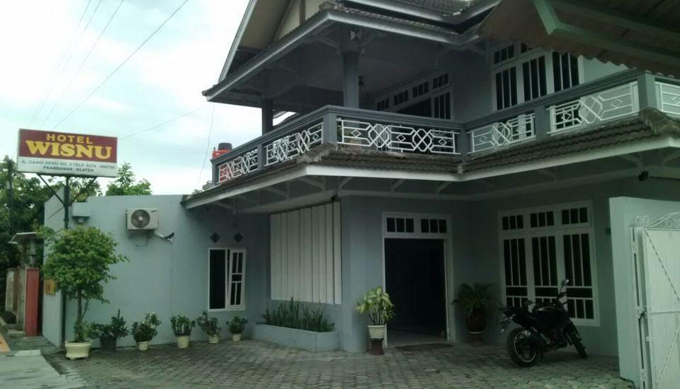 Hotel Wisnu Klaten - Facade