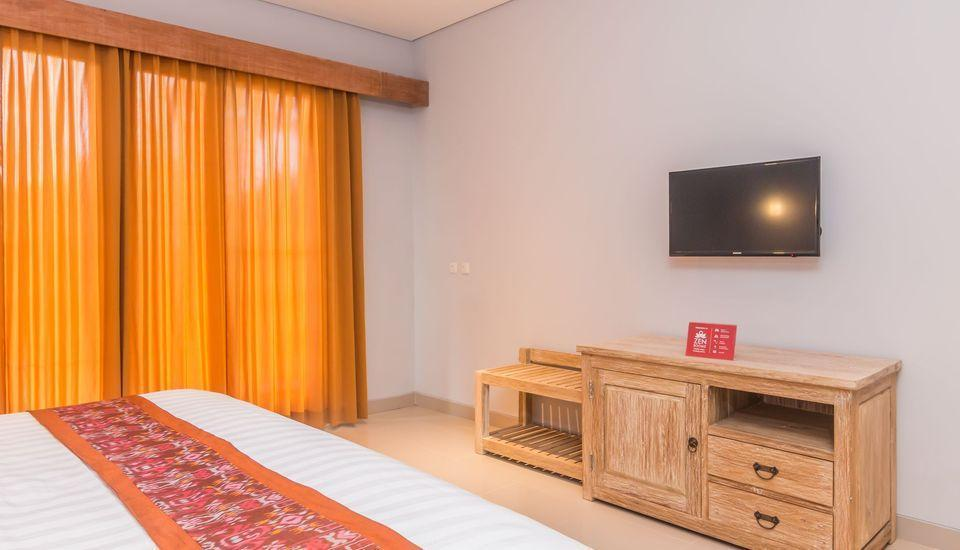 ZenRooms Ubud Jembawan Bali - Tempat Tidur Double