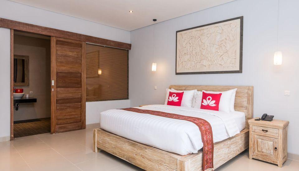 ZenRooms Ubud Jembawan - Kamar Tidur Double