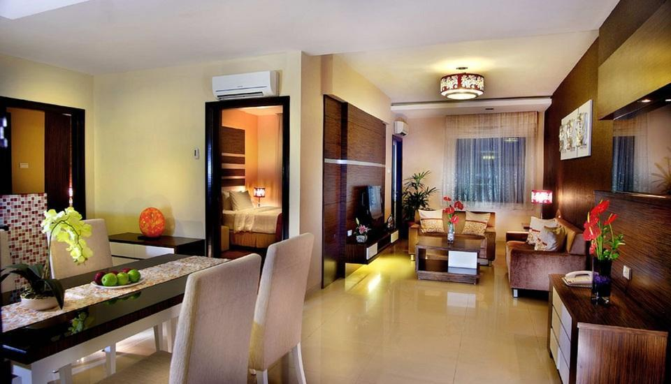 Grand Aston City Hall Medan - Service Apartment 2 Bedroom with Breakfast Regular Plan