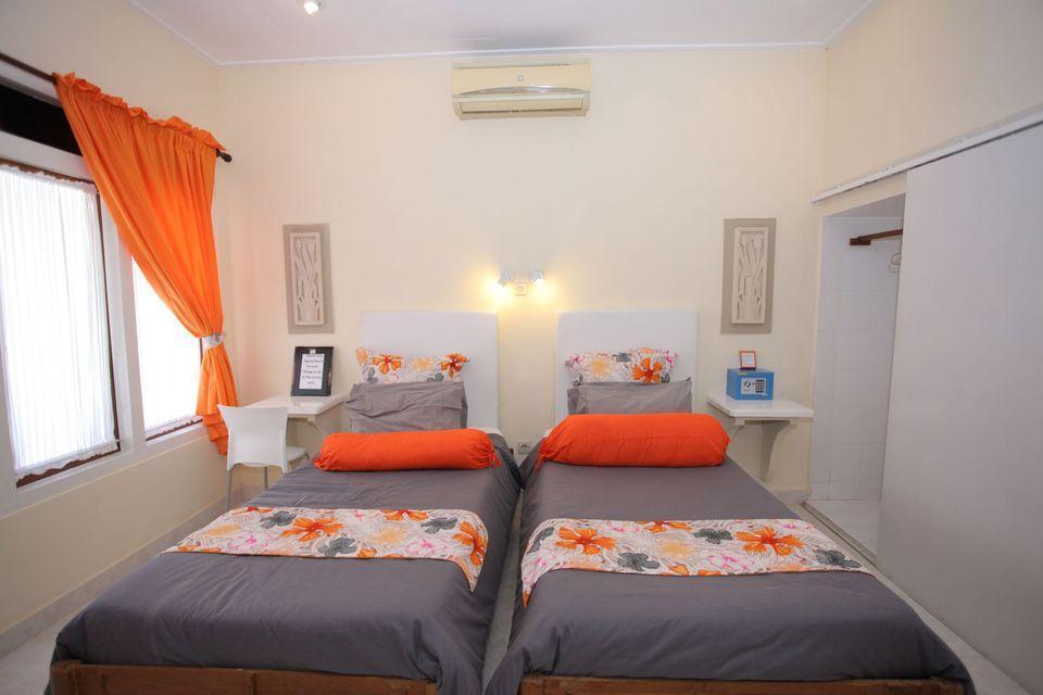 Villa Agung Beach Inn Bali - Deluxe Twin Room