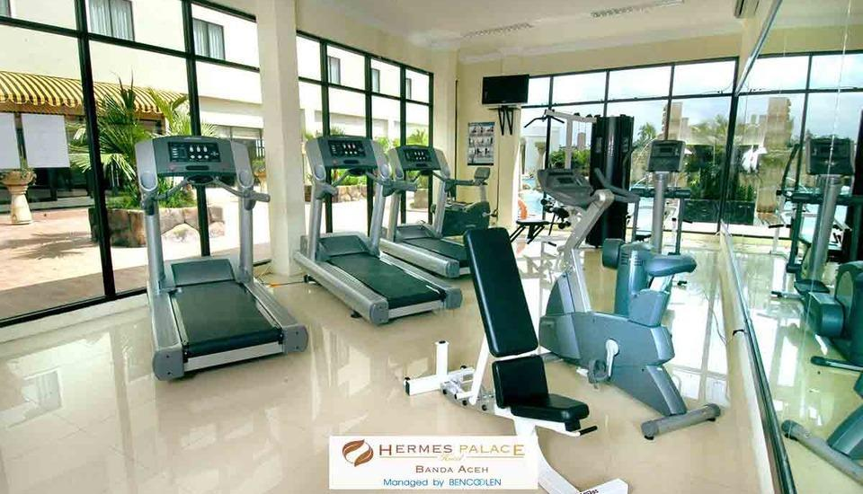 Hermes Palace Hotel Banda Aceh - fitnes