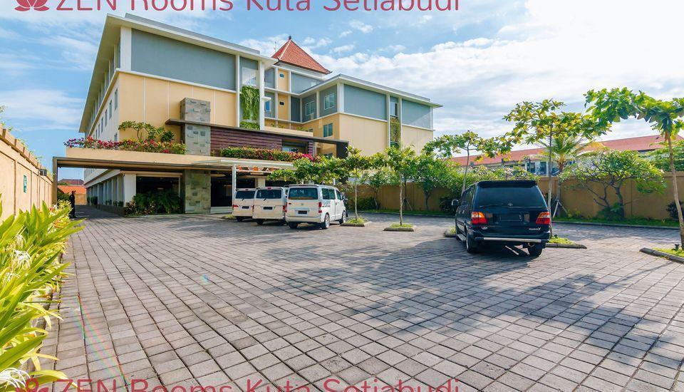 ZenRooms Kuta Setiabudi Bali - Tampak luar