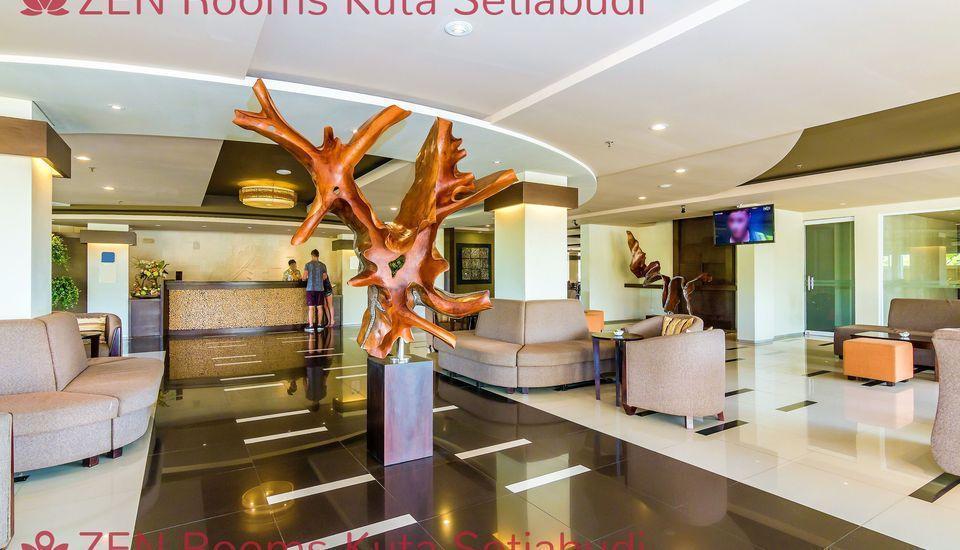 ZenRooms Kuta Setiabudi Bali - Lobi
