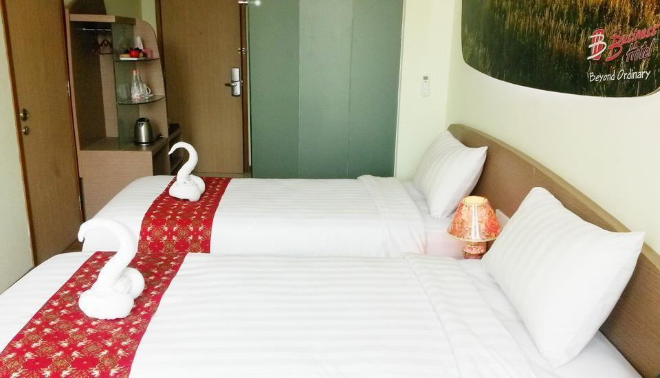 Business Hotel Jakarta - Deluxe Twin Room Only Cheap Deals