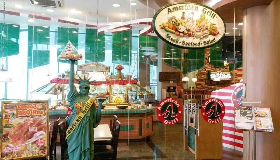 Business Hotel Jakarta - Sarapan di American Grill Restaurant