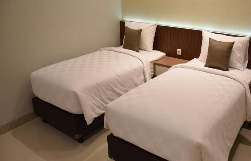 Moscha Hotel Surabaya - Moscha Small Twin Room Regular Plan