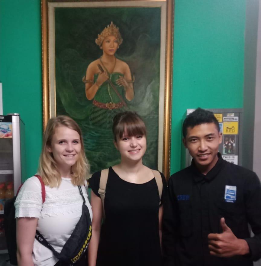 Chez Bon Hostel Bandung - Teman baru