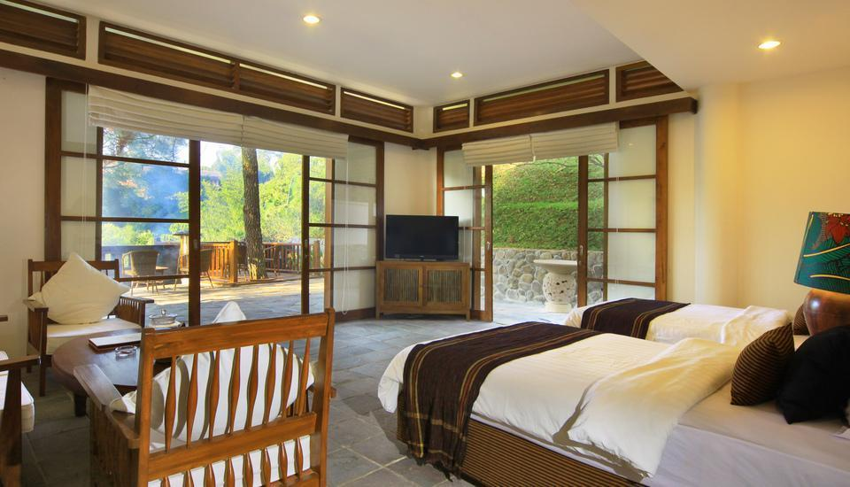 Novus Giri Resort & Spa Puncak - Garden Suite Room Only LUXURY - Pegipegi Promotion