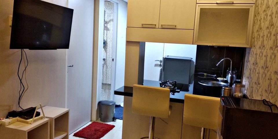 Hapukh Room at Serpong Green View Apartment South Tangerang - Kitchen
