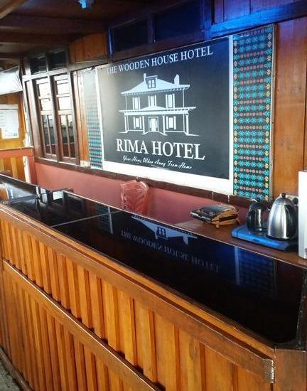 Hotel Rima Ruteng Ruteng - Receptiont