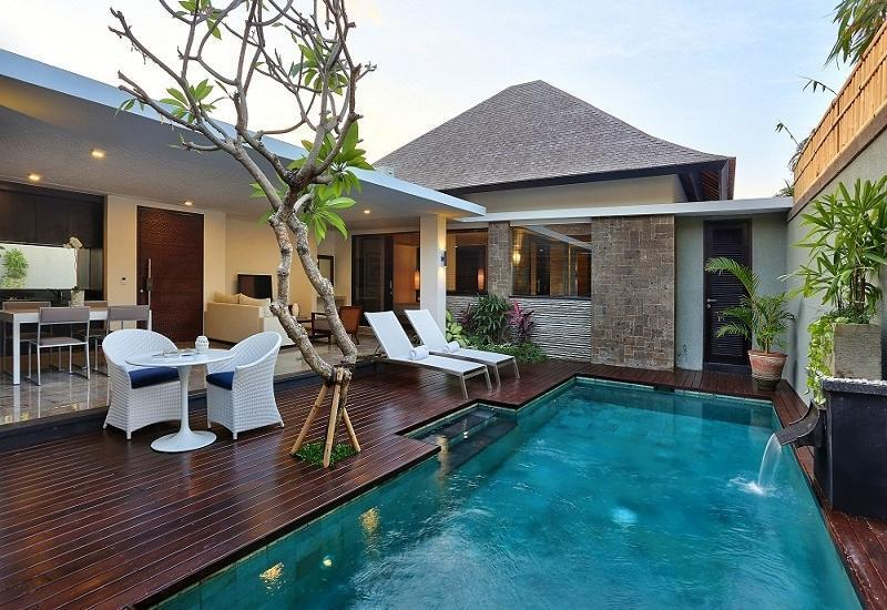 Peppers Seminyak - 2 Bedroom Pool Villa - kolam renang