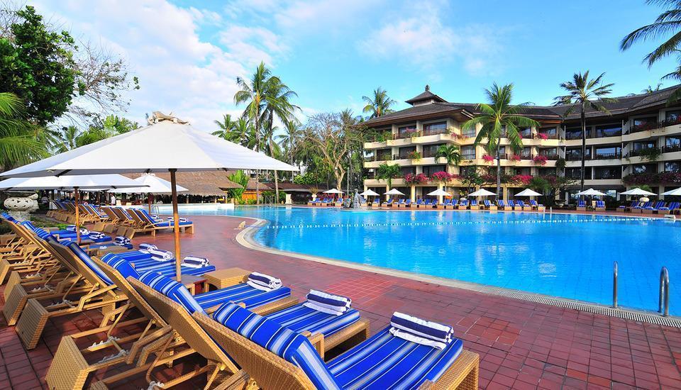 Prama Sanur Beach Bali Hotel Bali - Kolam renang lagoon