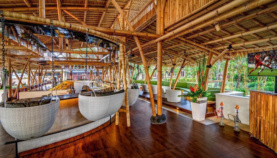 Prama Sanur Beach Bali Hotel Bali - Bamboo bar