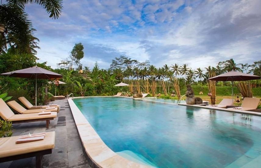 Om Ham Resort & Retreat Bali - Kolam Renang