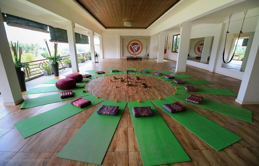 Om Ham Resort & Retreat Bali - Yoga