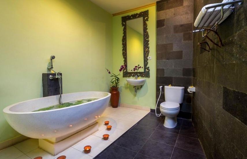 Om Ham Resort & Retreat Bali - Kamar mandi